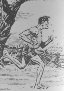 "Alf Tupper - The Tough of the Track ""It's a smashin' evening for a run."""
