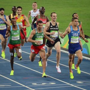 Matt Centrowitz Jr became the first American in 108 years to win the 1500m. Defending Champ Taoufik Makhloufi got silver with Nick Willis getting bronze, 8 years after his Beijing silver.